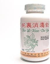 Clean Skin Detox Formula Dietary Supplement 500mg 100 capsules (Tuo Li Xiao Du Yin) L02 100% Natural Herbs