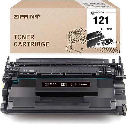 wholesale ZIPRINT Compatible online sale Toner Cartridge Replacement wholesale for Canon 121 3252C001 for imageCLASS D1620 D1650 Printer (Black, 1-Pack) online sale