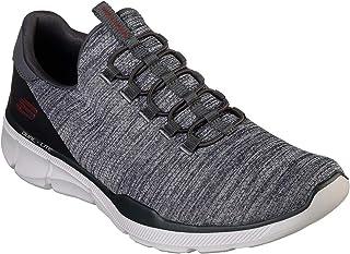 Skechers - Mens Equalizer 3.0- Emrick Shoes, Size: 8 XW US, Color: Charcoal