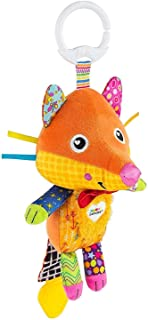 LAMAZE Flannery the Fox Baby Toy, Clip On Baby Pram Toy & Pushchair Toy with Baby Teether, Newborn Sensory Toy for Babies ...