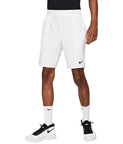 Nike Nike Court Flex Advantage Shorts 9 (White/Black) Men