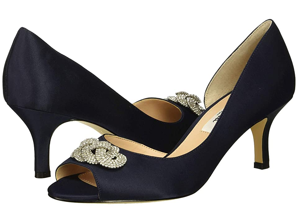 Nina Madolyn (New Navy Satin) High Heels