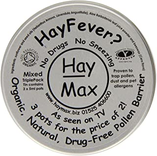 Hay Max 15ml Organic Pure Pollen Barrier Balm Triple Pack