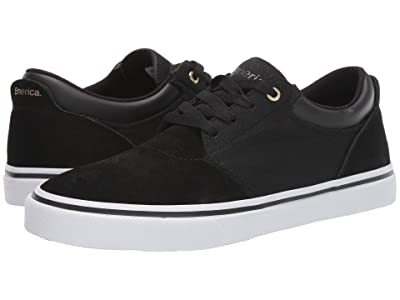Emerica Alcove (Black/White/Gold) Men