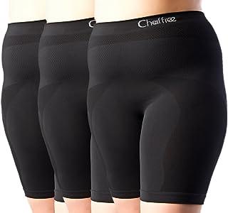 Chaffree Womens Anti Chafe Underwear, Plus Size High Waist Briefs, Stop Thighs Rubbing, Breathable Sweat Control, Soft Str...