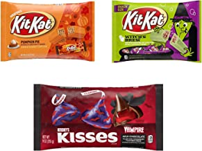 Halloween 2020 Limited Edition Flavor Bundle, Kit Kat Witch's Brew (Marshmallow Creme), Kit Kat Pumpkin Pie (Pumpkin Pie C...