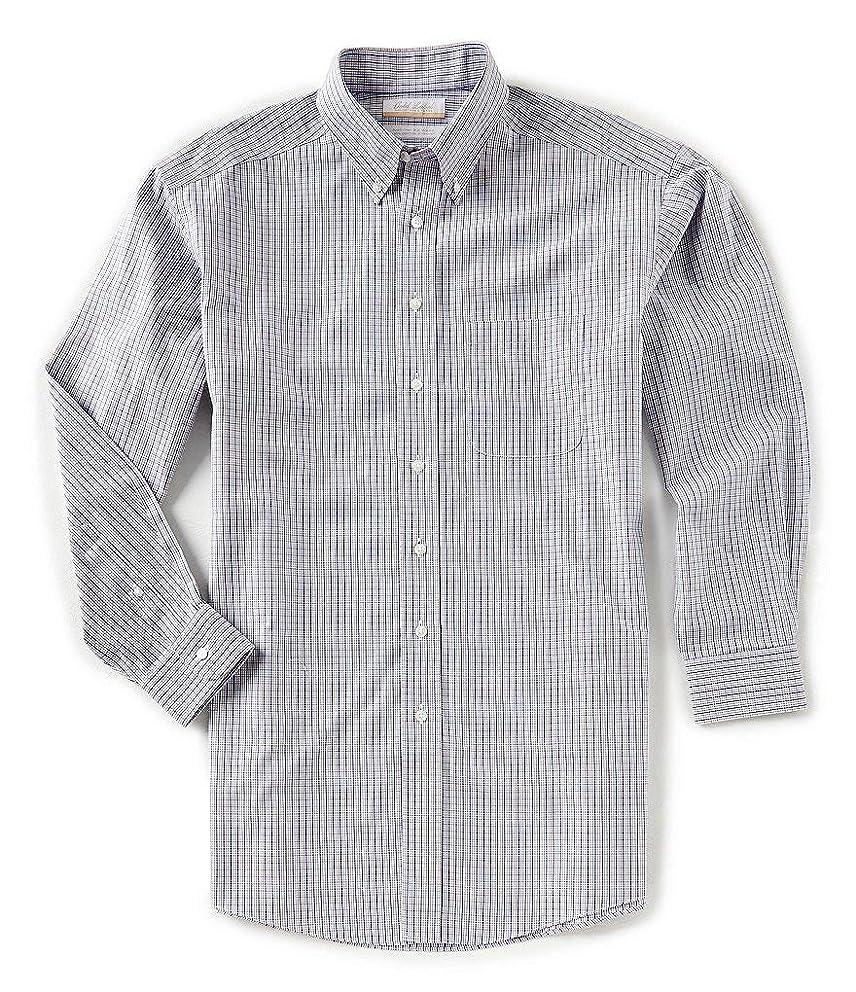 Gold Label Roundtree & Yorke Non-Iron Regular Button Down Check Dress Shirt S85DG026 Multi Color