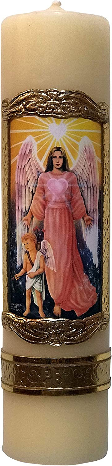 Archangel Manufacturer regenerated product Saint Chamuel Angel Challenge the lowest price Candle Blessing Arcangel