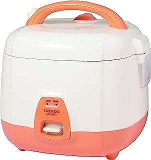 Cuckoo CR-0331 Basic Cuiseur à riz électrique et réchauffeur avec pot intérieur antiadhésif, fabriqué en Corée, 3 tasses, ...