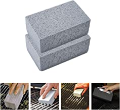 Grill Cleaning Brick,Wemaker Grill Griddle Cleaning Brick Block,Ecological Grill Cleaning Brick, De-Scaling Pumice Cleaning Stone for Removing Stains BBQ Cleaning for BBQ Grills, Racks, Flat Top Cooke