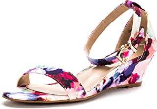 Best flower print wedge sandals Reviews