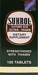 Sukrol Dietary Supplement 100 Tablets