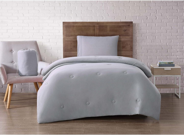 Brooklyn Loom Dorm Set, Twin XL, Grey