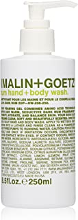 Malin + Goetz Hand + Body Wash, Rum, 8.5 Fl Oz