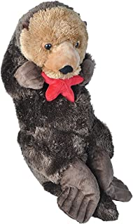 "Wild Republic Jumbo Sea Otter Plush, Giant Stuffed Animal, Plush Toy, Gifts for Kids, Jumbo Cuddlekins, 30"""