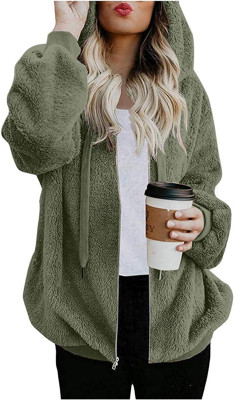 Hotkey Womens Ranking TOP6 Hoodies Coat Long Pockets Raleigh Mall Hooded Sleeve Zipper Swe