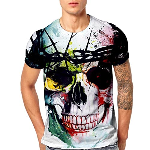 Camisetas Estampadas Hombre  Amazon.es 333253122f29b