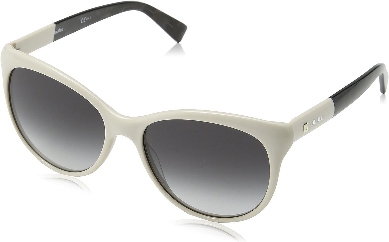 Max Mara Women's Mm Cosy Oval Sunglasses IVORY 56 mm