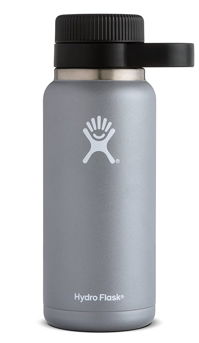 Hydro Flask 32 oz Beer Growler | Stainless Steel & Vacuum Insulated | Easy-Carry Handle | Graphite