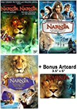 The Chronicles of Narnia: Complete Movie Trilogy DVD Collection (The Lion, the Witch and the Wardrobe / Prince Caspian / Voyage of the Dawn Treader) + Bonus Art Card