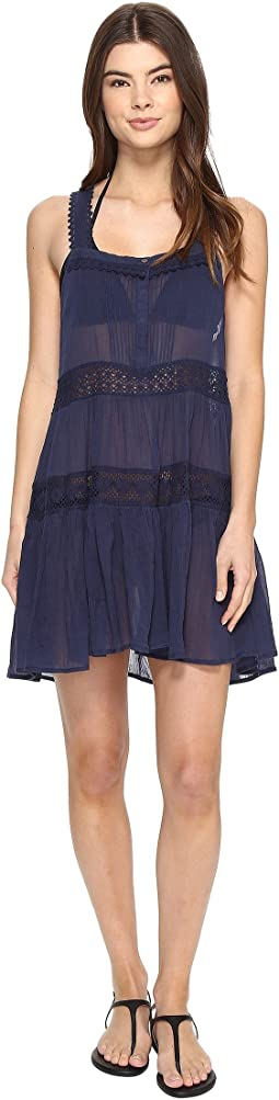Polo Ralph Lauren - Lace Cotton Laced Dress Cover-Up
