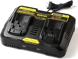 Best dewalt 20v battery charger not working Reviews