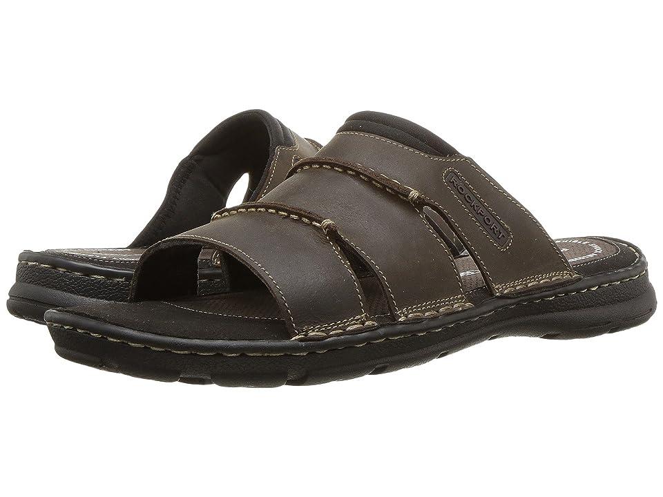 Rockport Darwyn Slide (Brown II Leather) Men
