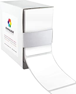 ChromaLabel 2 x 3 inch Color-Code Labels | 250/Dispenser Box (White)