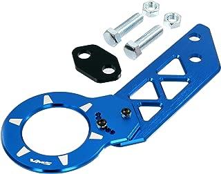 BLUE REAR ADJUSTABLE T6061 CNC Billet Anodized Aluminum Towing TOW HOOK for Honda Jazz Jass GD1 GD2 GD3 GD4 GD5 GD6 GD7 GD8 GD9 01 02 03 04 05 06 07 08 09 10 11 2001 2002 2003 2004 2005 2006 2007 2008 2009 2010 2011 (Brand New – Totally REDESIGNED) JDM