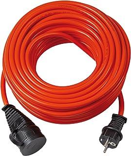 Brennenstuhl BREMAXX Verlängerungskabel 20m Kabel in rot, für den kurzfristigen Einsatz im Außenbereich IP44, einsetzbar bis -35°C, öl- und UV-beständig