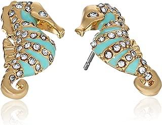 kate spade new york Paradise Found Seahorse Stud Earrings