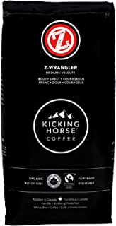 Kicking Horse Whole Bean Coffee, Z-Wrangler Medium Roast, 16 Ounce