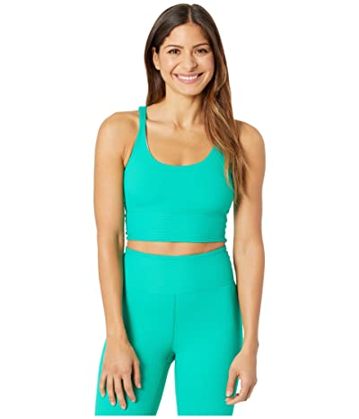 YEAR OF OURS Ribbed Gym Bra (Green) Women