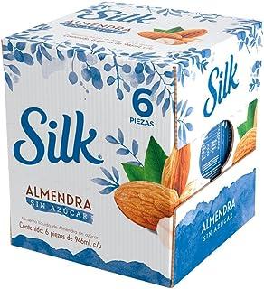 Silk Almendra sin Azúcar, 946 ml, 6 Piezas