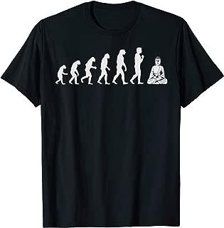 Buddha Evolution Shirt | Spiritual Buddhist Development Gift