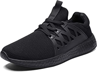 GaldGG Men Shoes Slip on Sneaker Casual Running Walking Sports Shoes Lightweight Knit Mesh Loafer