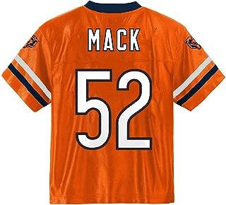 Outerstuff Khalil Mack Chicago Bears #52 Orange Youth Player Alternate Jersey