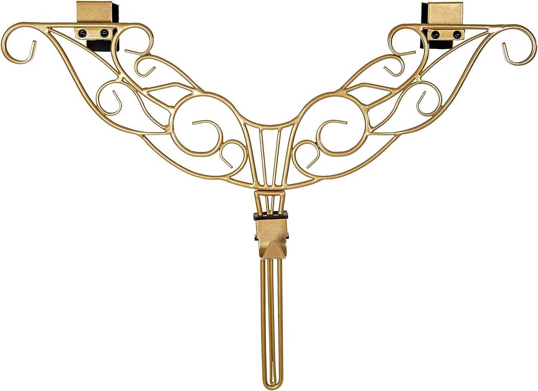 Front Door WREATH HANGER - Design Hook Superlatite Len supreme ADJUSTABLE Antler
