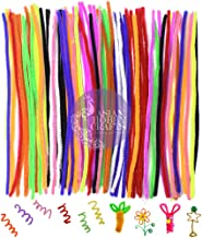 """Asian Hobby Crafts Pipe Cleaner 12"""": Multi Color : 100pcs : for HobbyCrafts, Scrapbooking, DIY Accessory"""