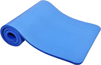 TechFit Yogamat Extra dik met draagriemen, 180x60 cm, antislip, perfect voor fitness, gym, vloeroefeningen, kamperen, aero...