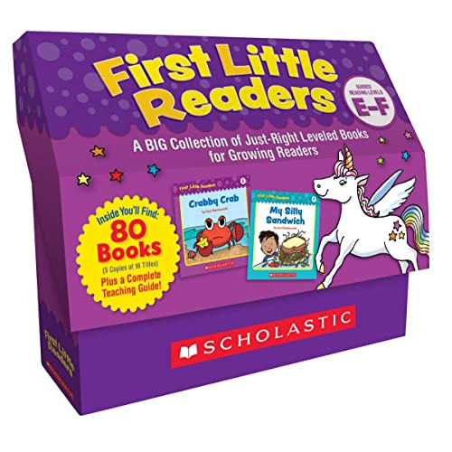 Scholastic First Little Readers, Set of 100, Level E-F