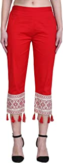 Sangani Women's Cotton Slim Fit Culottes Pants