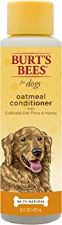 Burt's Bees All Natural Oatmeal Shampoo & Conditioner for Dogs | Made with Colloidal Oat Flour and Honey | Moisturizes, Soothes & Softens Dry Skin Naturally | Sulfate & Paraben Free -Made in the USA