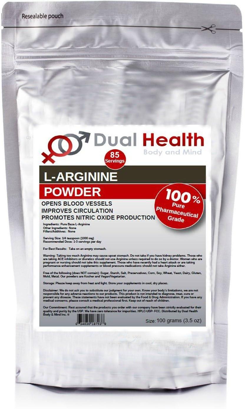 Pure Max 83% OFF L-Arginine 100 Grams 3.5oz Free Max 64% OFF Base Bulk S Powder Form