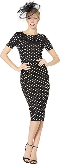 1960s Stretch Mod Wiggle Dress