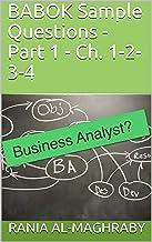 BABOK Sample Questions - Part 1-1: Ch. 1-2-3-4