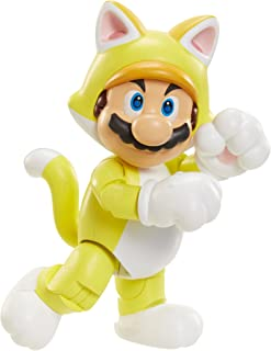 NINTENDO World of Nintendo Cat Mario with Bell Action Figure, 4