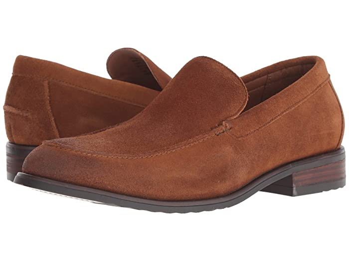 Lucky Brand  Canton (Dark Tan) Mens Slip-on Dress Shoes