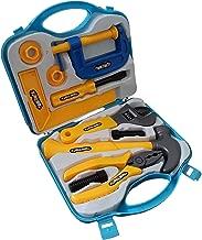 Amitasha Mechanic Suitcase Tools Set for Kids (Multicolour) - (Pack of 8 Tools)