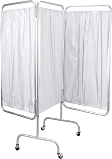 Drive Medical 3 Panel Privacy Screen, White